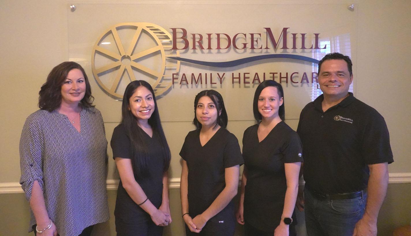 bridgemill family healthcare staff